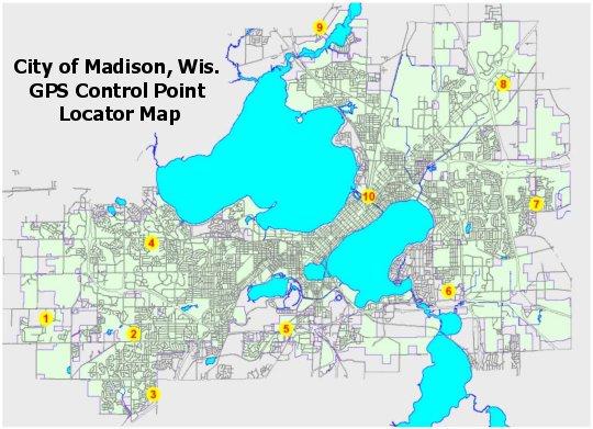 City of Madison Wis GPS Base Station